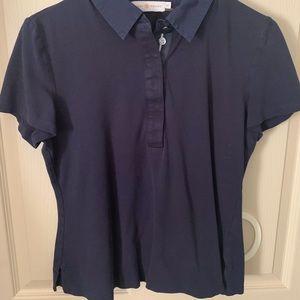 Tory Burch Navy Polo Shirt